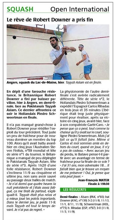 Robert Downer French Local Newspaper