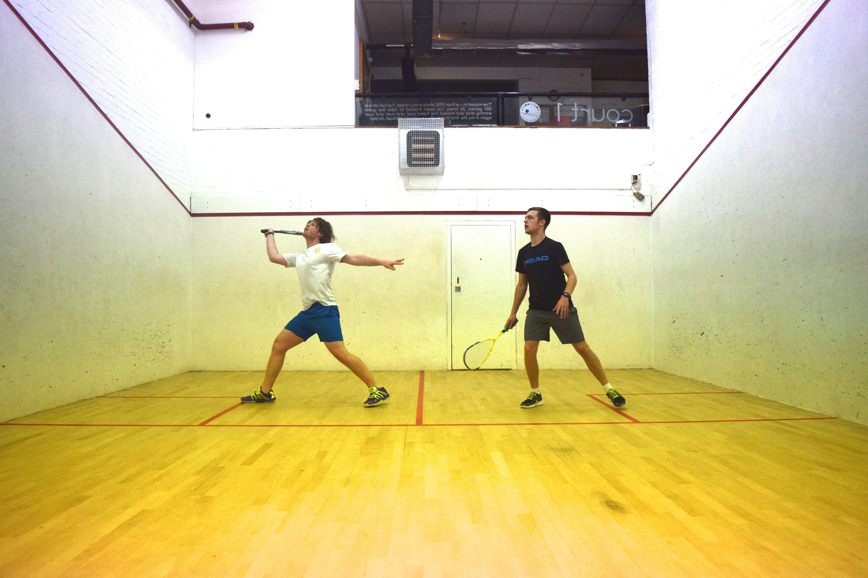 Squash Spiel